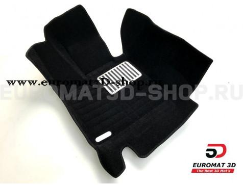 Текстильные 5D коврики с высоким бортом Euromat3D в салон для Bmw X5 (F15) (2015-) № EM5D-001215